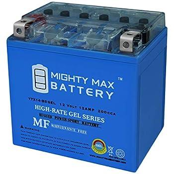 Honda TRX450 Fourtrax Foreman ES Battery Replacement 1998-2004