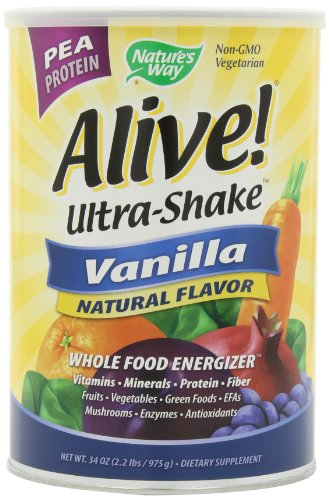 Alive! Pea Ultra-Shake à la vanille, £ 2,2 poudre