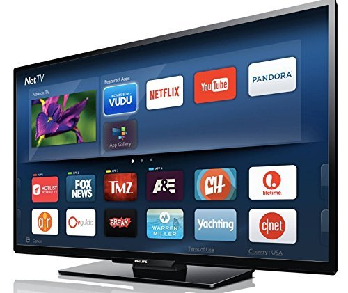 Price comparison product image Philips 55 inch 4K TV Smart Ultra HD 2160p Wireless Wifi 802.11ac LED LCD Television