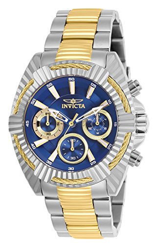 Invicta Women's 'Bolt' Quartz Stainless Steel Watch, Color:Two Tone (Model: 27189)