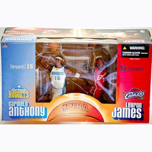 NBA Special Edition Carmelo Anthony & Lebron James Deluxe Box Set