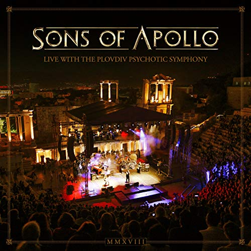 Sons Of Apollo - Live With The Plovdiv Psychotic Symphony (Ltd. Deluxe3 CD+DVD+Blu-ray Artbook)