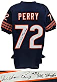 William Perry Signed Navy Custom Throwback Jersey w/The Fridge