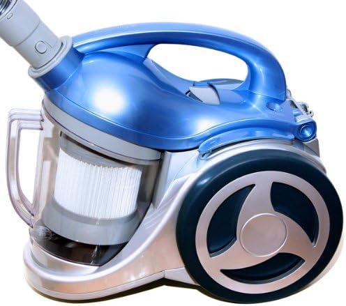 h.koenig TC80 - Aspirador ciclónico sin bolsa (2200W, 74 dB máx, 40 dm³/s) azul: Amazon.es: Hogar