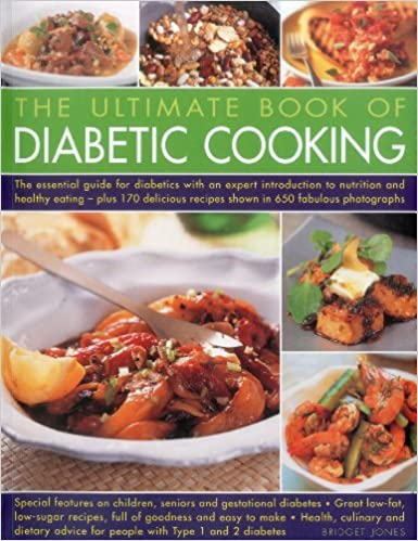 The ultimate book of diabetic cooking amazon bridget jones the ultimate book of diabetic cooking amazon bridget jones 9781780191294 books forumfinder Images