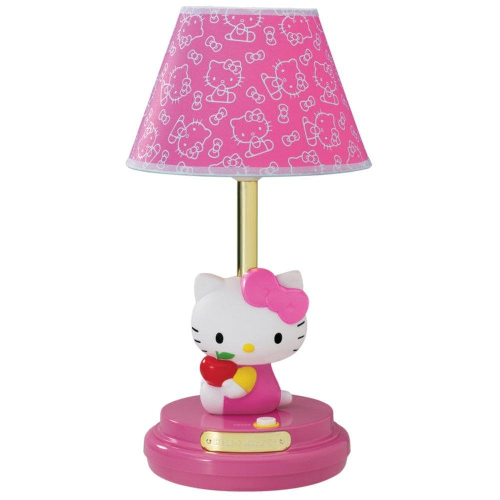 pink decorative table lamp kids bedroom bedside girl girls new ebay. Black Bedroom Furniture Sets. Home Design Ideas
