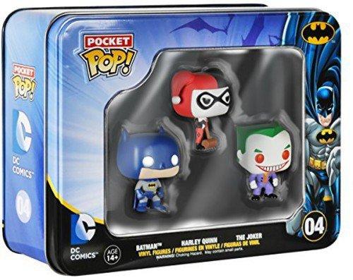 Funko Batman DC Comics Pocket Pop! Mini Vinyl Figure Tin (3-Pack)