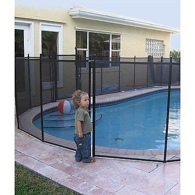 In-ground Water Warden Child Pool Safety Fence (5 Ft. X 12 Ft.)