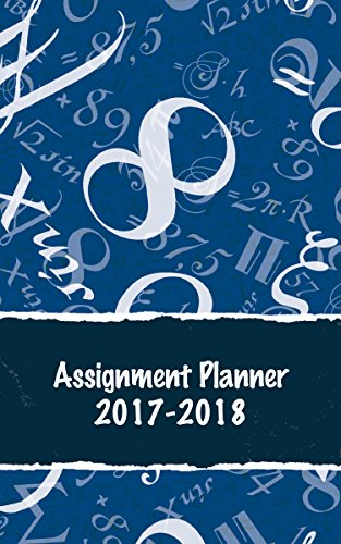 House of Doolittle 2017-2018 Weekly Academic Planner Assignment Book, Math, 5 x 8 Inches, August - August (HOD274RTG69-18) ()
