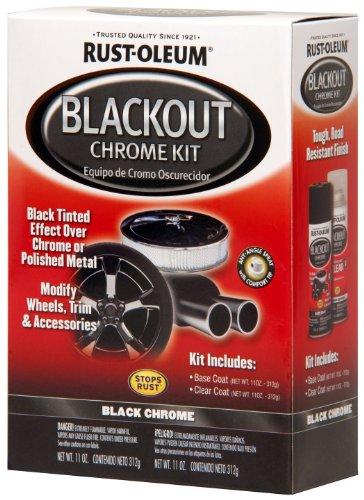 Rust Oleum Automotive 257355 Blackout Chrome