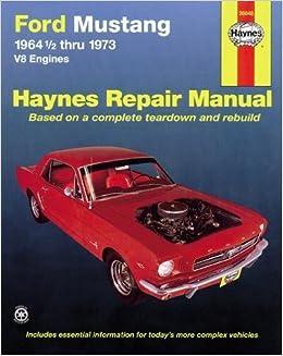 mustang 2006 repair manual