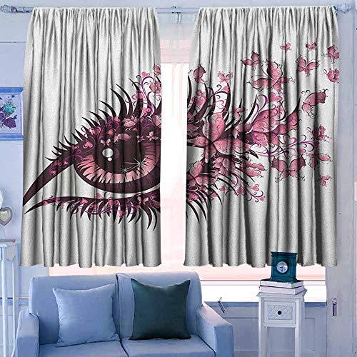 Lovii Rod Pocket Curtains 42