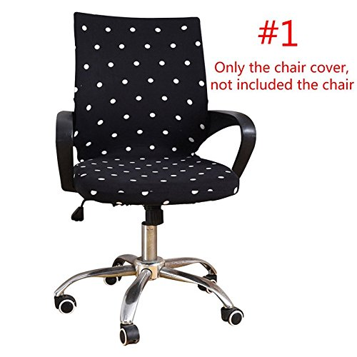 Wall of Dragon Seat Covers for Computer Chairs Office Chair Covers Slipcover Computer Seat Cover Stool Stretch Elastic Fabric Chair Cover