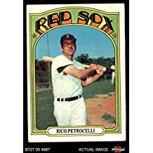 1972 Topps # 30 Rico Petrocelli Boston Red Sox (Baseball Card) Dean's Cards 4 - VG/EX Red Sox