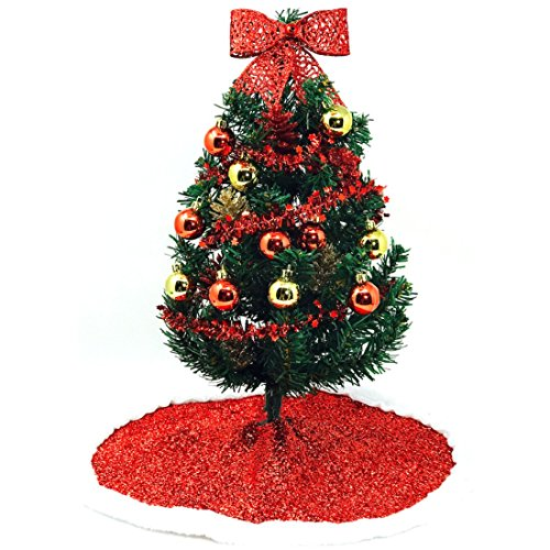 Small Christmas Tree with Decorations Ready to Assemble (Tree Decorate Small Christmas)