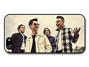 AMAF ? Accessories Arctic Monkeys Rock Band Group Portrait case for iPhone 5 5S