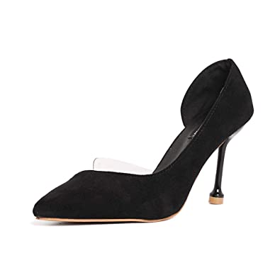 10768e394e9 luckyy Summer high-Heeled Shoes in The Workplace ol Wind Sharp ...