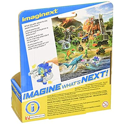 Fisher-Price Imaginext Jurassic World, Sub Dino Catcher: Toys & Games
