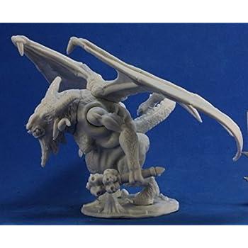 Amazon com: RPR89033 Bones Horned Hunter Miniature Reaper