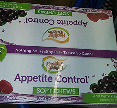 Healthy Delights Appetite Control Soft Chews (12) 5 Count Sticks/Packs