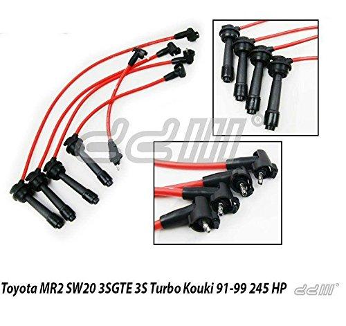 Amazon.com: TOYOTA MR2 TURBO 3SGTE KOUKI 3S 95-99 Ignition Lead Spark Plug Wire Cable: Automotive
