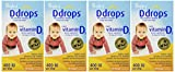 DDROPS 400 IU 90 DROPS – 4 Pack Review