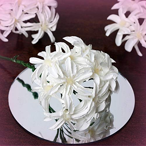 Inna-Wholesale Art Crafts New 72 pcs Ivory Mini Hybrid Calla Lilies Decorating Flowers Party Kids Supplies Sale - Perfect for Any Wedding, Special Occasion or Home Office D?cor