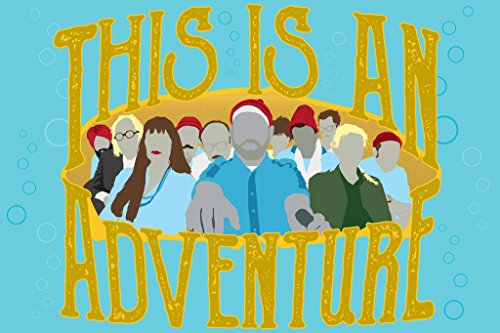 This Is An Adventure Minimalist Movie Poster 12x18 inch