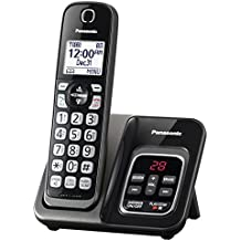 Panasonic KX-TGD530M Expandable Cordless Phone with Call Block and Answering Machine - 1 Handset