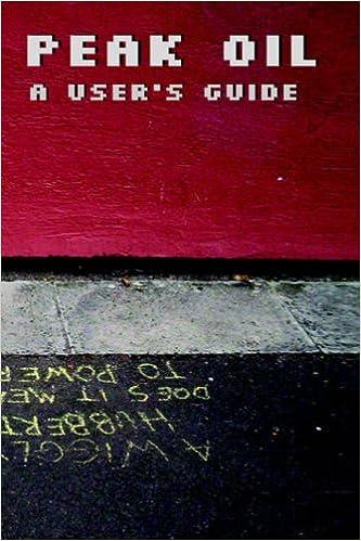 Book Peak Oil - A User's Guide