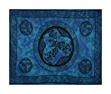 Celtic Sarong - Horses, Blue With Turquoise Tones