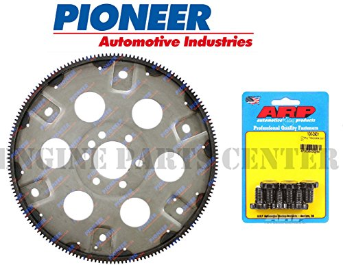 (NEW Automatic Transmission 168 tooth Flexplate+ HP BOLTS Chevy 383 400 External (Flywheel + Bolts))