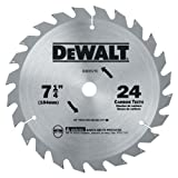 DEWALT DW3577c 7-1/4-Inch 24 Tooth Saw Blade