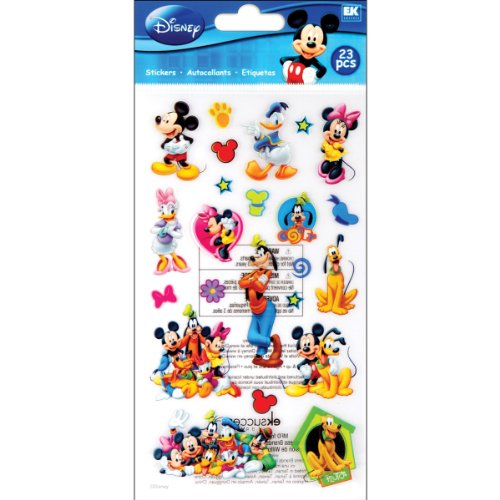 Disney Mickey Mouse and Friends Sticker (Disney Minnie Mouse Scrapbook)