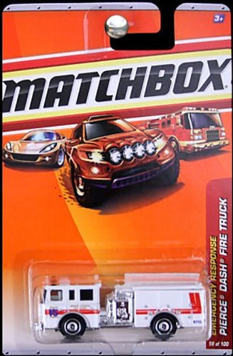 Matchbox 2010 Pierce Dash Fire Truck #56/100. Burtonsville for sale  Delivered anywhere in USA