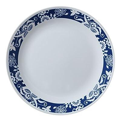 """Corelle Livingware True Blue 10.25"""" Dinner Plate (Set of 6)"""