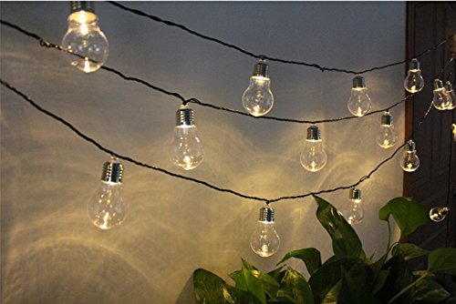 10 Bulbs Dinowin Lighting Bulb Lights For Plastic Waterproof Modes With Lights4m Solar OutdoorGardenChristmas 2 Led Decorations String mnvywN08O