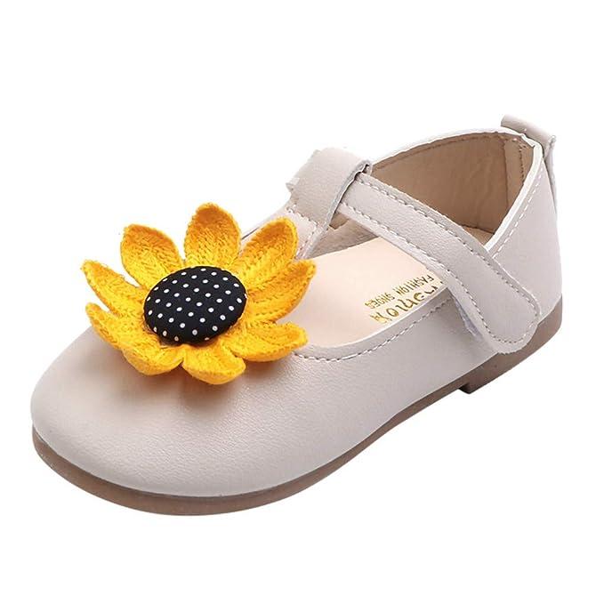Amazon.com: Zapatos de princesa Mary Jane para niños de 0 a ...