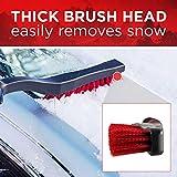 "Mallory 532 26"" Snow Brush with Foam Grip"
