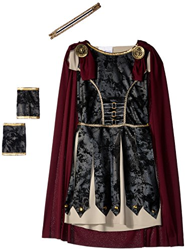 Fearless Gladiator Girls Costume Black/Red -