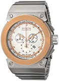Invicta Men's 11591 Akula Reserve Chronograph Silver Textured Dial Stainless Steel Watch