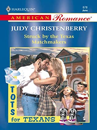book cover of Struck by the Texas Matchmakers