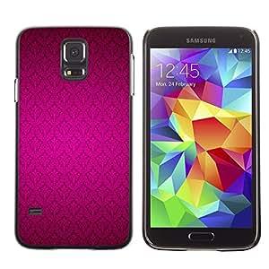 LECELL--Funda protectora / Cubierta / Piel For Samsung Galaxy S5 SM-G900 -- Pattern Wallpaper Vibrant Color --