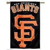 Party Animal Sports Fan MLB Team San Francisco Giants Applique Banner Flag