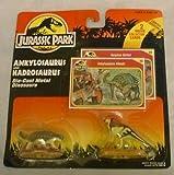 Jurassic Park Die-Cast ANKYLOSAURUS AND HADROSAURUS Mini Dinosaurs