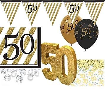 35 Teile Set Zum 50 Geburtstag Jubiläum Oder Goldene