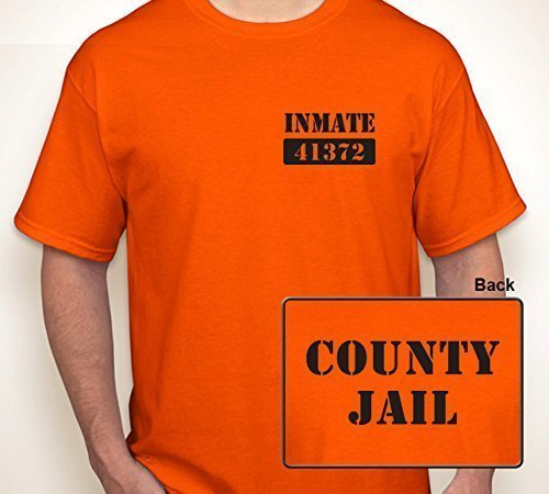 COUNTY JAIL INMATE (ANY NUMBER) | T-shirt S-6XL -