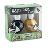 CENTRAL FLORIDA KNIGHTS GAME DAY DUO NAIL POLISH SET-UNIVERSITY OF CENTRAL FLORIDA NAIL POLISH-INCLUDES 2 BOTTLES AS SHOWN