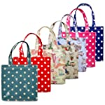 Waterproof Oilcloth Shopper Tote Beac...