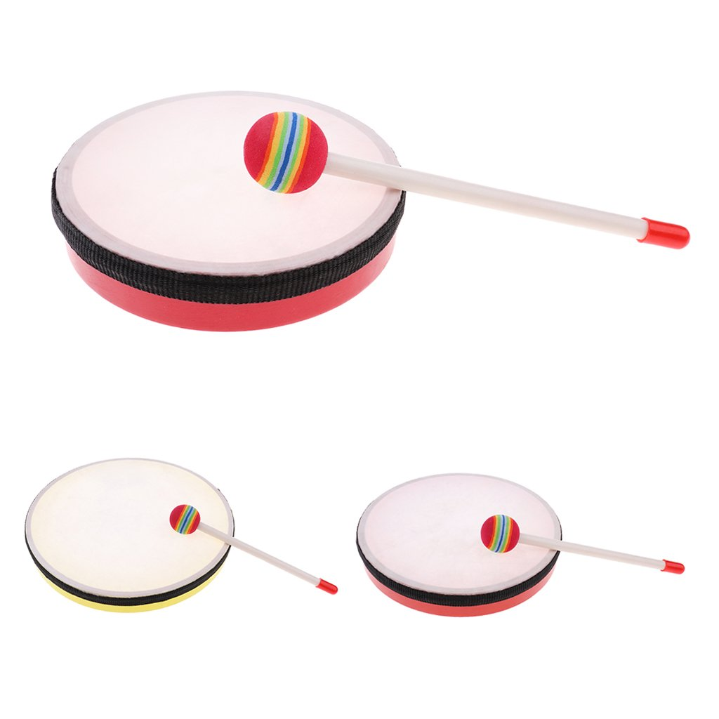 Hand Drum Exercise Kids Musicality Replacement Toys for Drum Players HD6-1-1